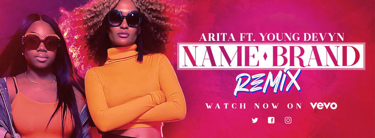 arita - name brand remix ft young devyn